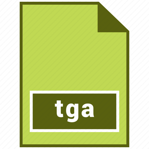 document, file, raster file format, tga icon