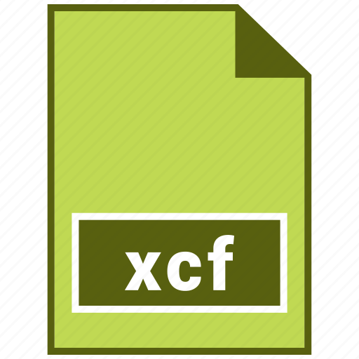 extension, file, format, gimp, type, xcf icon