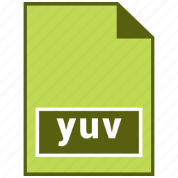 hovytech, page, raster file format, yuv icon