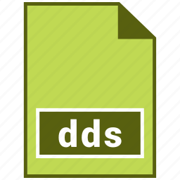 dds, directdraw surface, raster file format icon