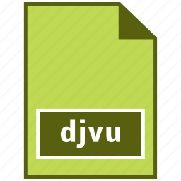 djvu, files, raster file format, sheet, sumatrapdf icon