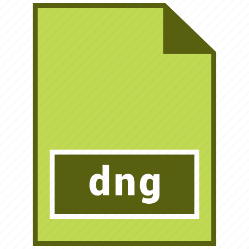 dng, extension, file, format, hovytech, raster icon