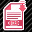 document, file, format, jp2
