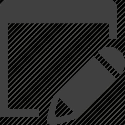 app, application, edit, pencil, program, write icon