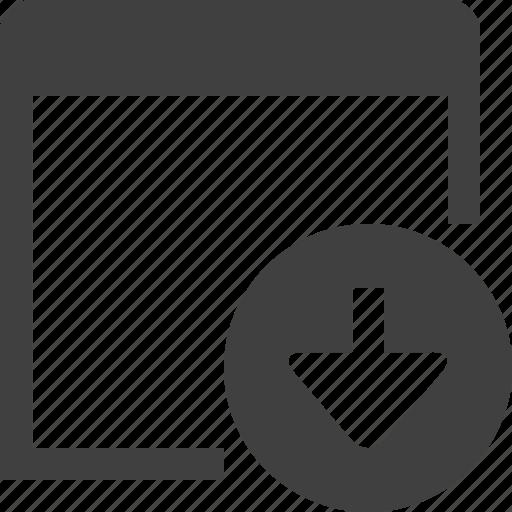 app, application, arrow, download, get, program icon