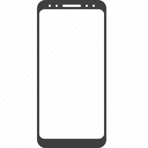 baseless, frameless, galaxy, phone, s8, s9, smartphone icon
