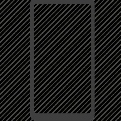 baseless, bezell, frameless, less, phone, smartphone icon