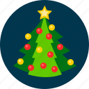 christmas, nature, plant, tree icon
