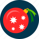 ball, christmas, toy, tree icon