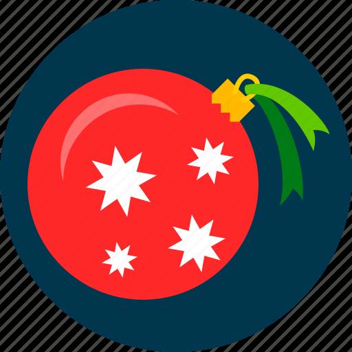 ball, christmas, toy, tree icon