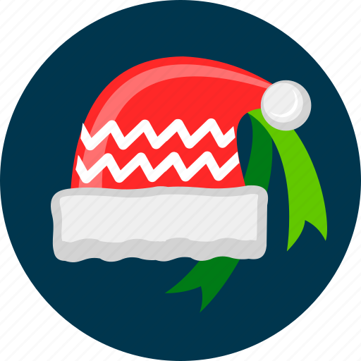 christmas, claus, hat, santa, xmas icon