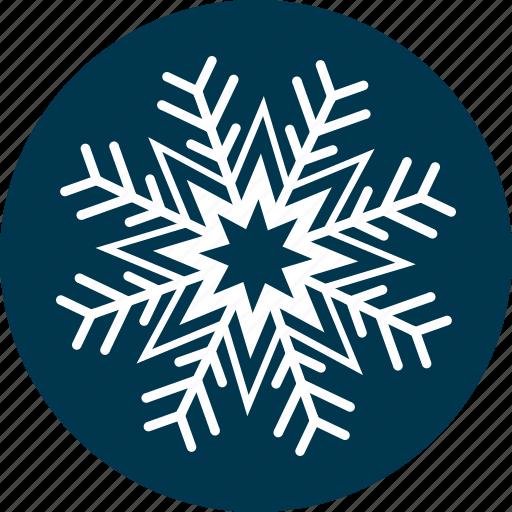 christmas, snow, snowflake, weather, winter icon