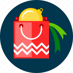 bag, christmas, gift, package, toy icon