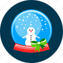 ball, christmas, snow, snowfall, winter icon