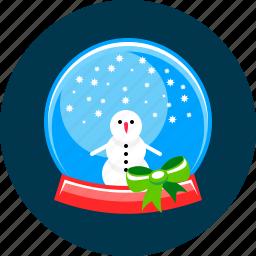 ball, christmas, snow, snowfall, winter icon
