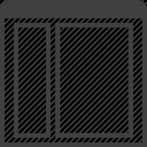 grid, layouts, layuot, page, sidebar, view, window icon