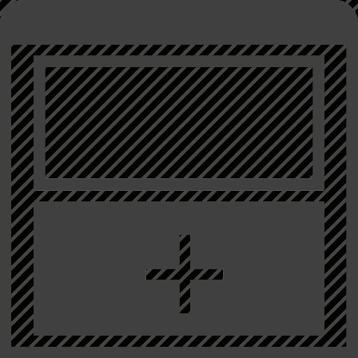 grid, layouts, layuot, page, split, vertical, window icon