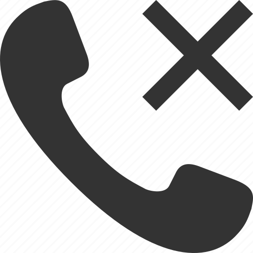 call, delete, handset, phone, telephone, tube icon