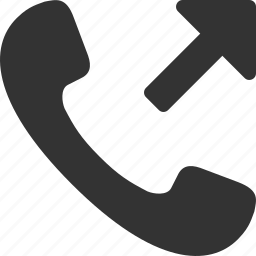 call, handset, outgoing, phone, telephone, tube icon