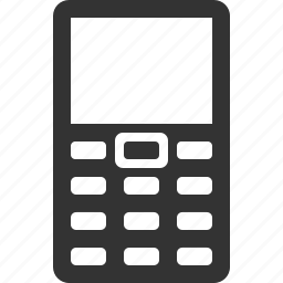 cell, message, mobile, monoblock, phone, telephone, wireless icon