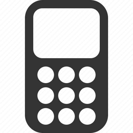 cell, device, mobile, monoblock, old, phone, telephone icon