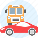 auto, bus, car, transport icon