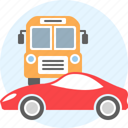 auto, bus, car, things, transport, vehicle icon
