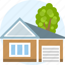 building, cottage, estate, home, real, things icon