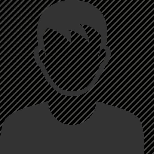 boy, man, user icon