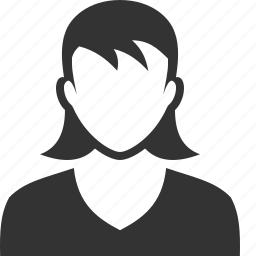 account, avatar, female, girl, lady, user, woman icon