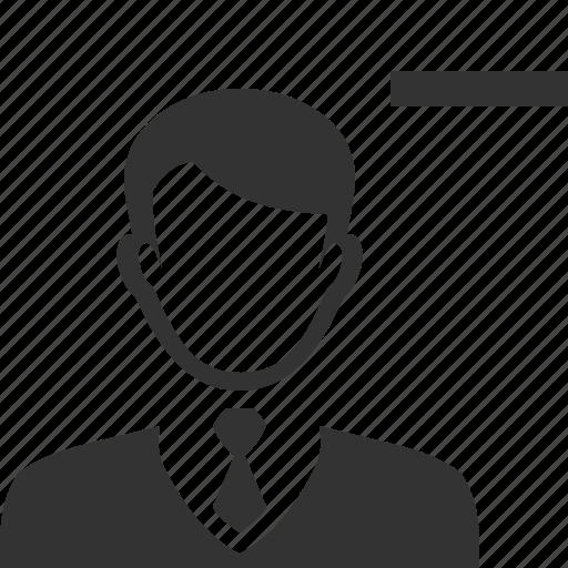 accounts, client, contact, delete, profile, remove, user icon