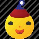 emoticon, fun, funny, joker icon