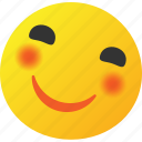 emoticon, happy, smile, smiley icon icon
