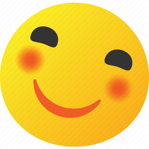 emoticon, happy, smile, smiley icon icon