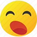 emoticon, sleepy icon