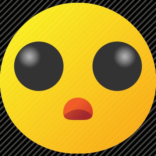 emoticon, fan, lover, surprised icon