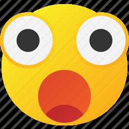 cry, emoticon, shocked icon