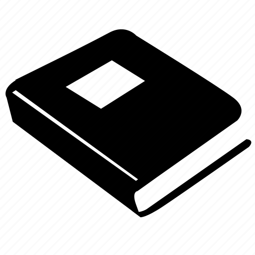 book, cover, read, table, text icon