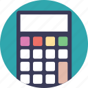 accounting, adding machine, calculator, estimator, financial