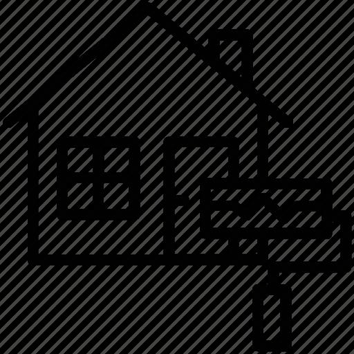 home improvement, home maintenance, home renovation, house painting, interior renovation icon
