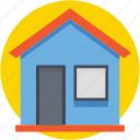 building, home, hut, house, real estate