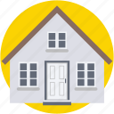 building, home, house, hut, real estate