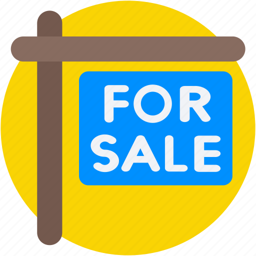 for sale, house for sale, property sign, sale sign, signage icon