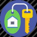 access, house key, key, keychain, room key
