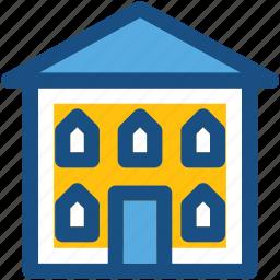 building, home, hut, shack, villa icon