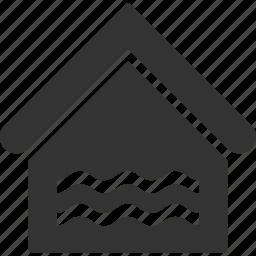 aqua, home, house, liquid, real estate, swiming pool, water icon