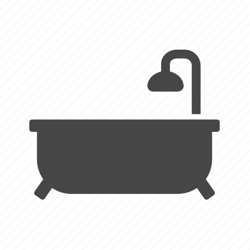 bathroom, real estate, shower icon