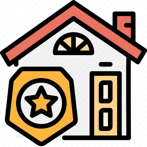 estate, home, property, protect, real, safe, security icon