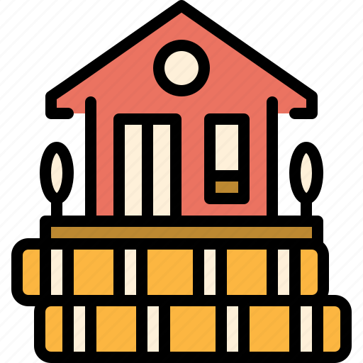 estate, home, loan, money, mortgage, property, real icon