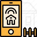 building, estate, home, online, property, real, smart icon